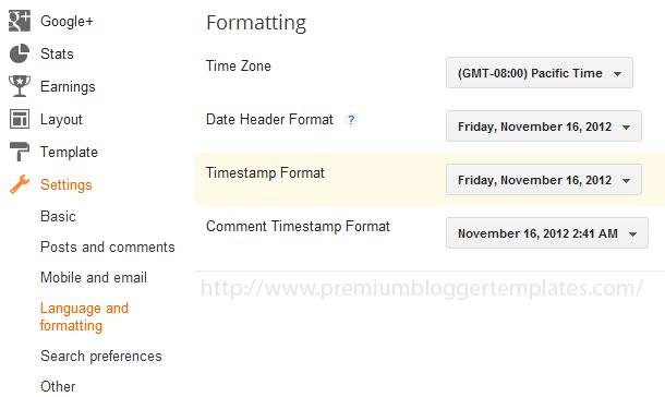 Correct Timestamp Format