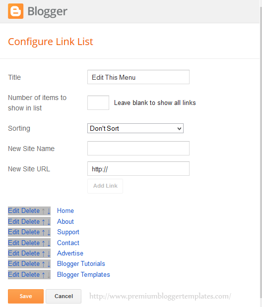More Links Added to LinkList Widget