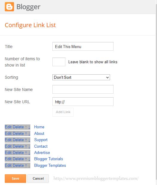 More Links Added to LinkList Widget