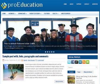 educational templates free download. free css responsive template, Presentation