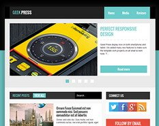Geek Press Blogger Template