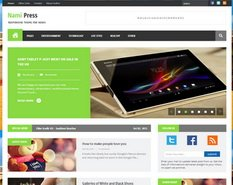 Nami Press Blogger Template