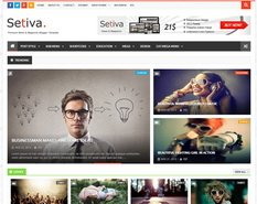 Setiva Blogger Template