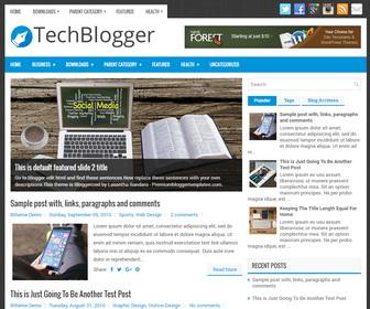 TechBlogger Blogger Template