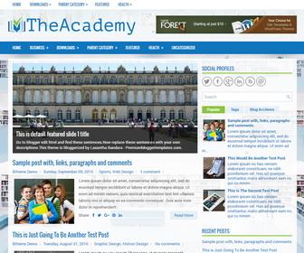 TheAcademy Blogger Template