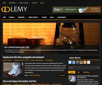 Lemy Blogger Template