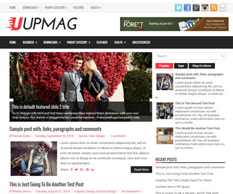 UpMag Blogger Template