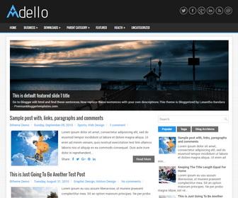 Adello Blogger Template