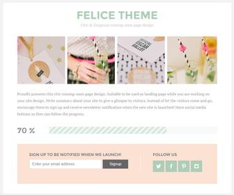 Felice Blogger Template