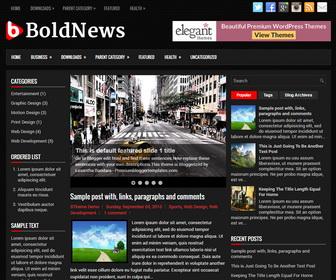 BoldNews Blogger Template