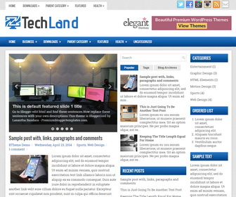 TechLand Blogger Template