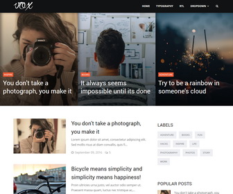 Vox Blogger Template