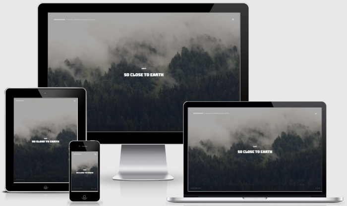 Responsive View - NorthWind Blogger Template