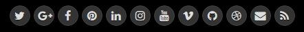 Social Buttons - NewsKey Blogger Template