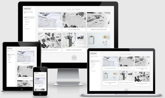 Responsive View - Milla Blogger Template